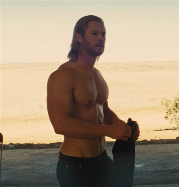 Chris Hemsworth -- Thor.