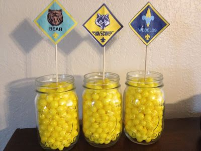 Blue Gold Centerpiece Idea Use These For Decoration With Legos In