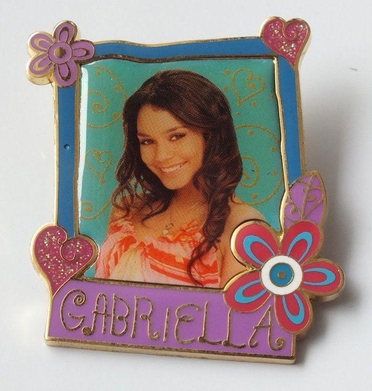 Walt Disney High School Musical Booster Collection Pin Gabriella From 2007 #Disney