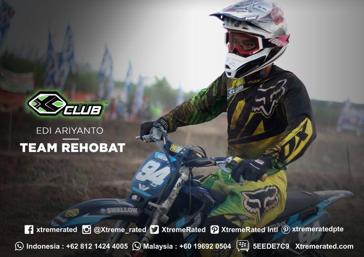 Edi Ariyanto Rehobat Team 2017 Grasstrack Indonesia National Championship  #xtremerated #xclub #foxracing #grasstrack #indonesia
