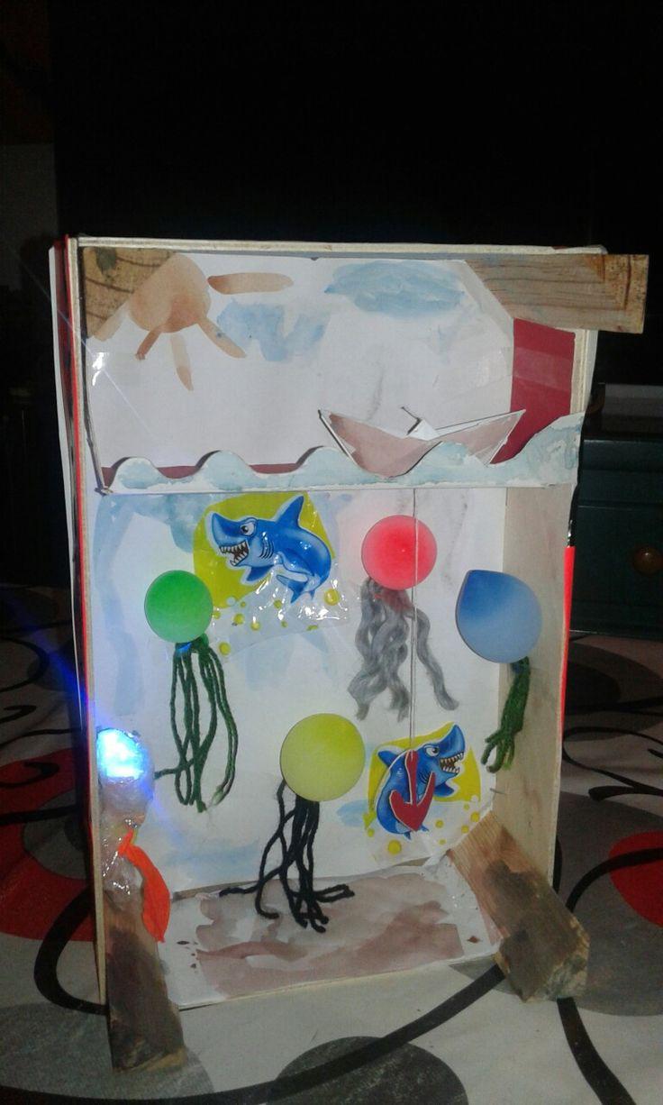 Медузы, поделки для детей. Medusas