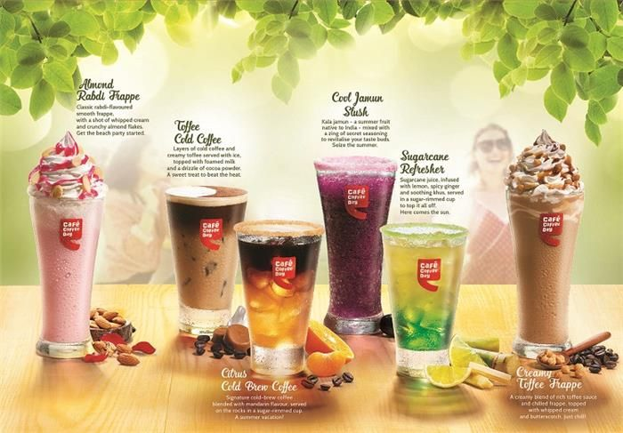 Summer Just Got Cooler at #CafeCoffeeDay with the New '#SummerChillers' #Beverages #CCD