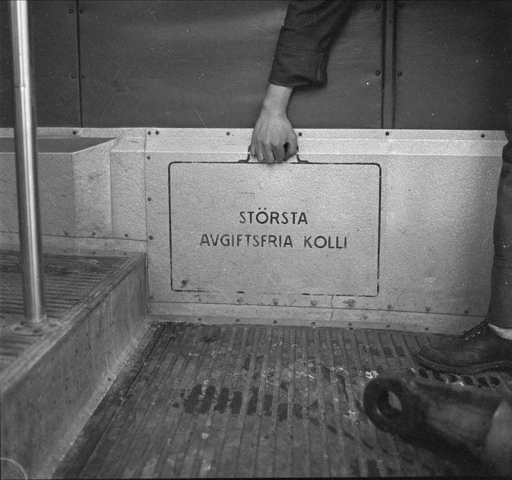 Svensketrikken presenteres, eksteriør og interiør, Oslo, antatt januar, 1959. @ DigitaltMuseum.no