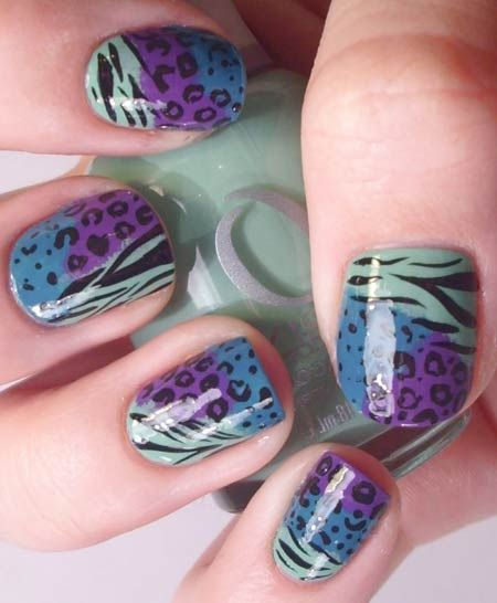 Animal print nails are perfect for the summer in NYC! Check out the closest Duane Reade or visit Duanereade.com to take a walk on the wild side.