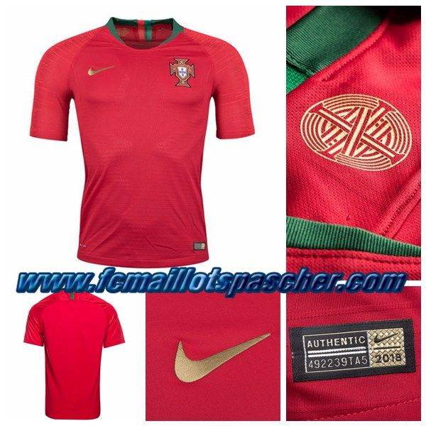 Magasin De Foot Replica: Maillot Portugal Rouge Coupe Du