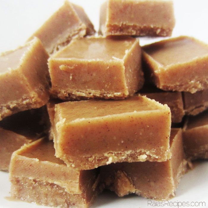 Quick & Easy Nut Butter Freezer Fudge (gluten, grain, dairy free, paleo) #DeliciousObsessions