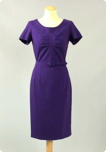 Daisy Dapper Alma dress purple