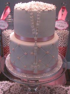 1st communion dress cakes - Google Search