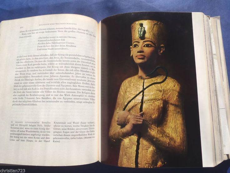 AGYPTISCHE KULTUR PHARAONEN EGYPT CULTURE IN PHARAOHS´ AGE XRARE GERMAN ILLUST