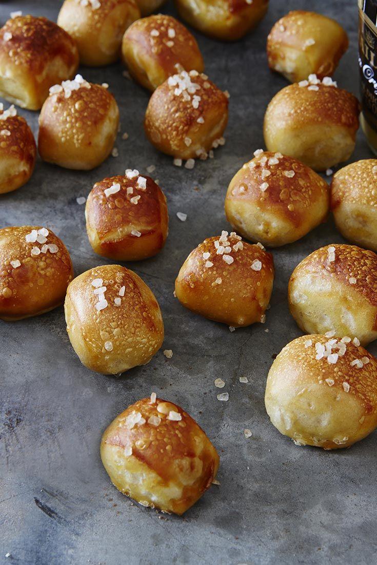bread machine pretzel bites