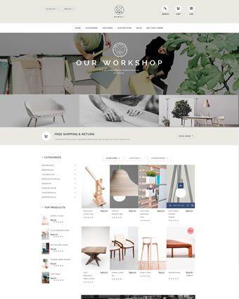 Moment – A supreme furniture OpenCart theme