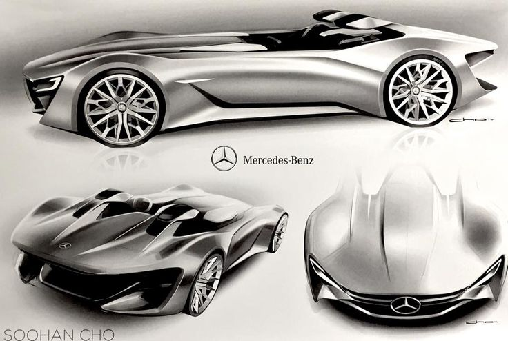 Another CCS Mercedes project by senior designer Soohan Cho