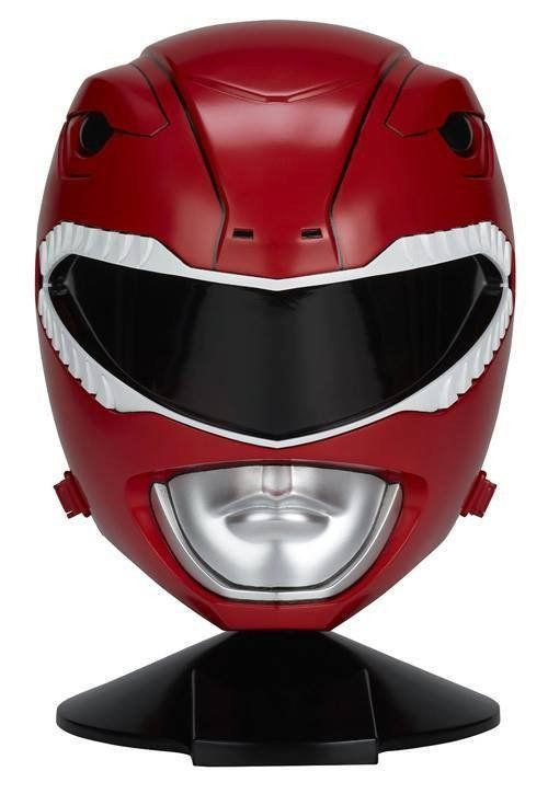 Bandai - Mighty Morphin Power Rangers - Legacy - 1:1 Scale Red Ranger Helmet