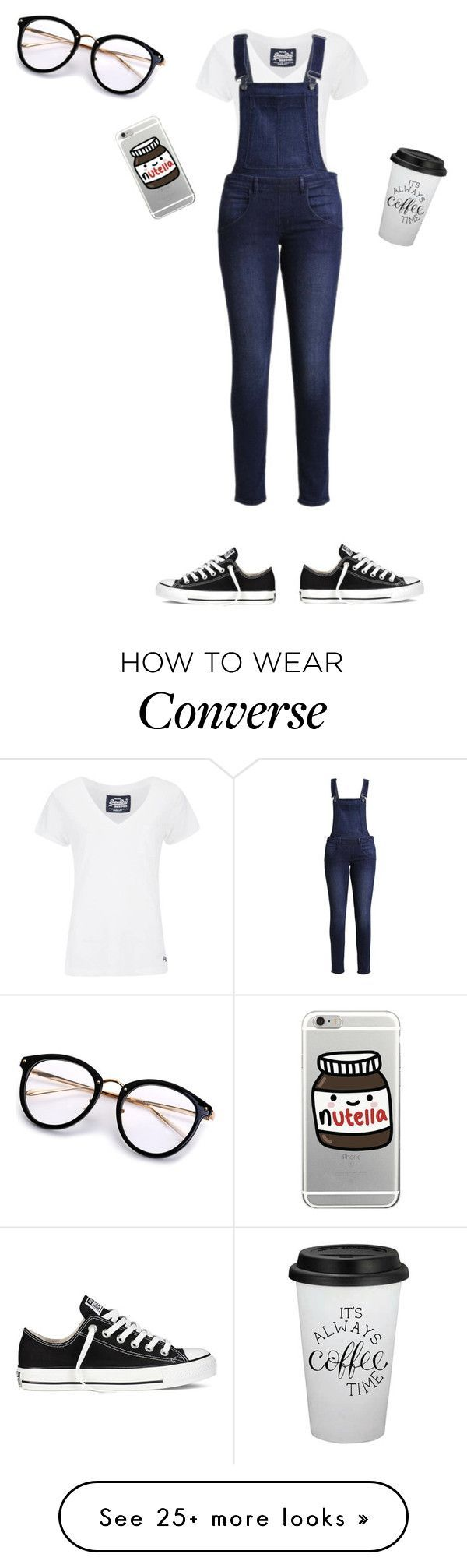 """""""Hipster"""" by aliyah-238-daniel on Polyvore featuring Superdry, Converse and Cheap Monday"""