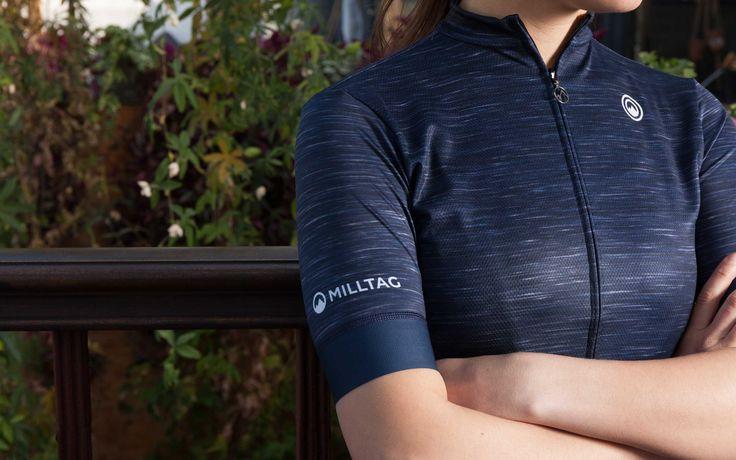 Atlantic Women Jersey - Short Sleeve Women's Cycling Jersey by Milltag