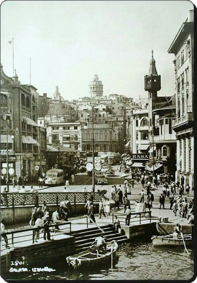 Karakoy 1950ler.