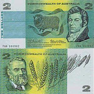 Mata uang negara Papua Nugini beda dengan Australia. Uang Papua Nugini bernama kina, sedangkan Australia dolar. Tapi tahukah anda bahwa skema warna uang kertas kina mengikuti warna gambar uang dolar Australia? Misal 2 dolar Australia berwarna hijau, maka 2 kina pun berwarna hijau. 5 dolar Australia merah muda, 5 kina pun menyamainya. Nominal lainnya seperti