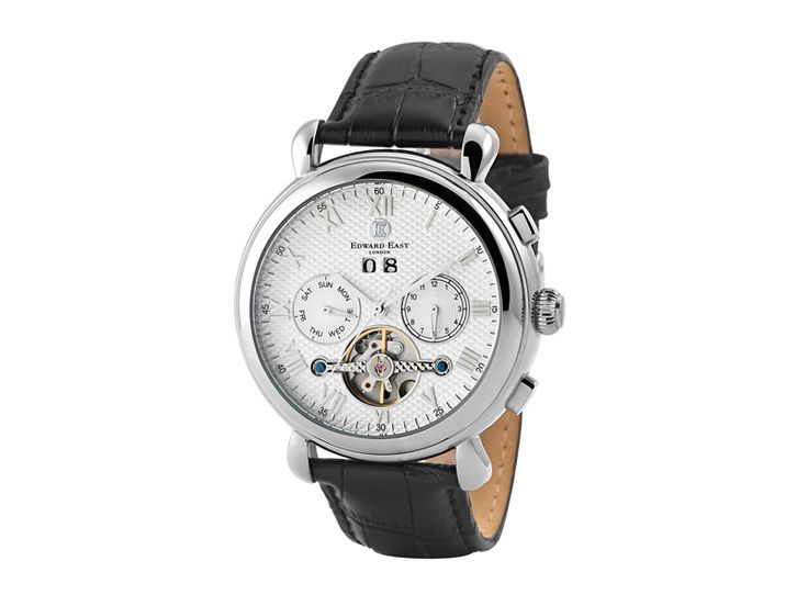 Treat the man in your life to a stylish and sophisticated Edward East Automatic Watch (MW185) US$230 #flysaadutyfree