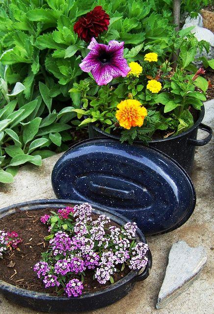 2163 Best Odd Planters Garden Pots Images On Pinterest
