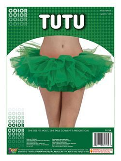 Adult Green Tutu | Cheap Tutus Halloween Costume for Accessories and Makeup