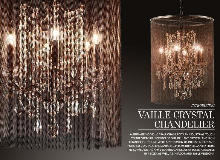 Restoration Hardware Lighting - My new dining chandelier! & 109 best Restoration Hardware images on Pinterest   Architecture ... azcodes.com
