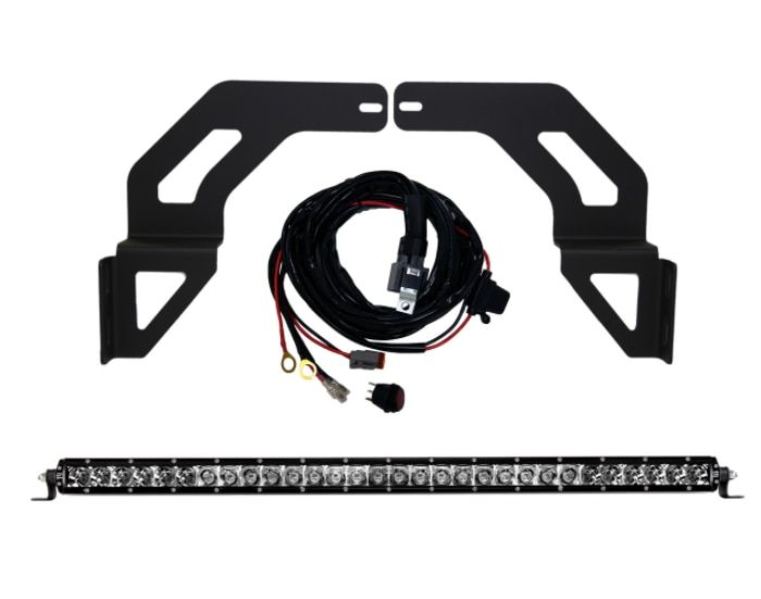 Rigid Industries 465683 Grille Kit With 30 Sr Pro Light Bar For 16