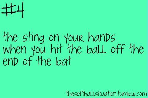 the softball situation