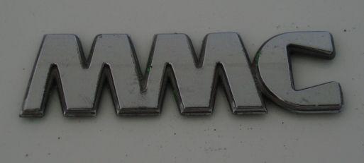 MMC car badge