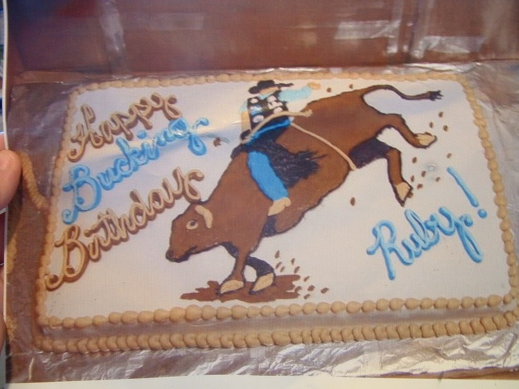 Cowboy Rodeo Cake Google Search Cakes Pinterest