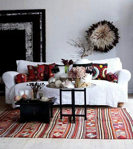 Boho living room house of dreams pinterest tan for White boho living room