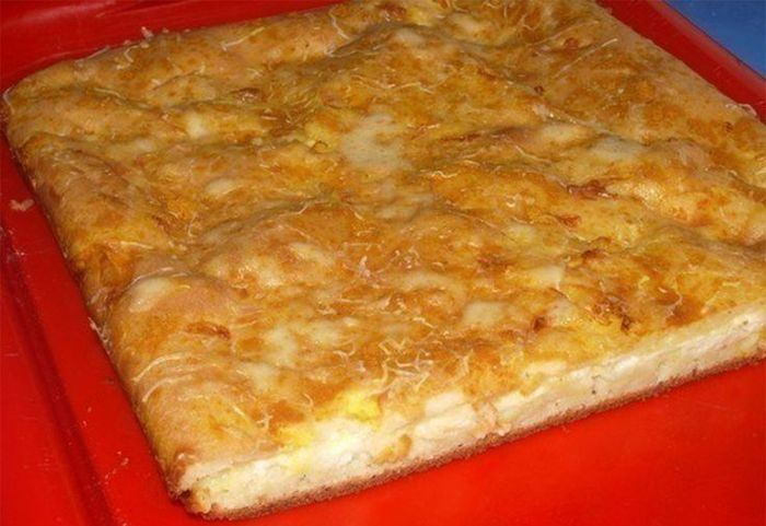 Обожаю этот пирог — «Наливной пирог с сыром». Объедение и главное легко готовить!