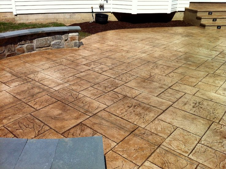 31 best patio floor images on pinterest | patio ideas, stamped