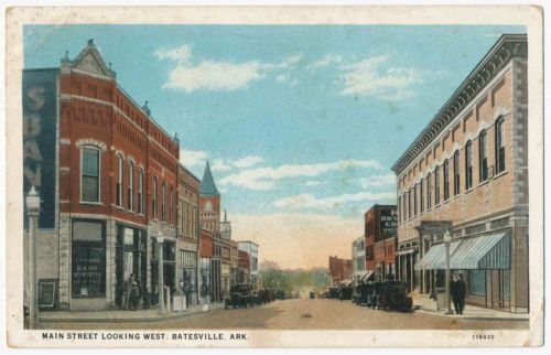 Main Street Looking West Batesville Arkansas | eBay