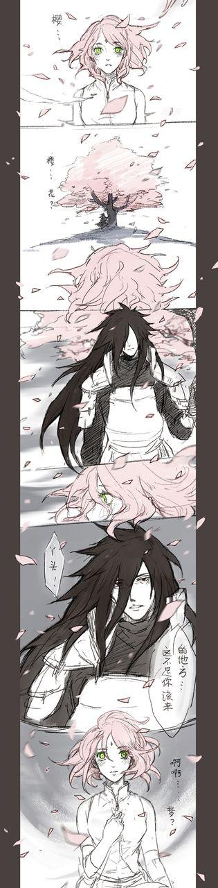 Madara x Sakura is a very odd pairing
