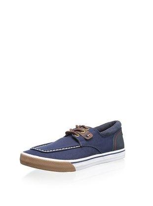 Tommy Hilfiger Men's Raider Boat Shoe (Dark Blue)