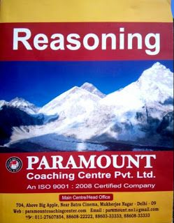 Competitive Exams Reasoning PDF Book By Paramount Coaching Center : 'GK Solve' Preys For Your Success. Like Our Official ...