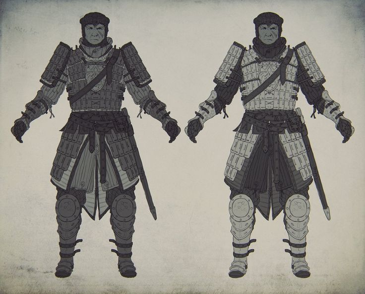 Knight's lamellar armor concept 1, Evgeniy Gottsnake on ArtStation at https://www.artstation.com/artwork/knight-s-lamellar-armor-concept-1