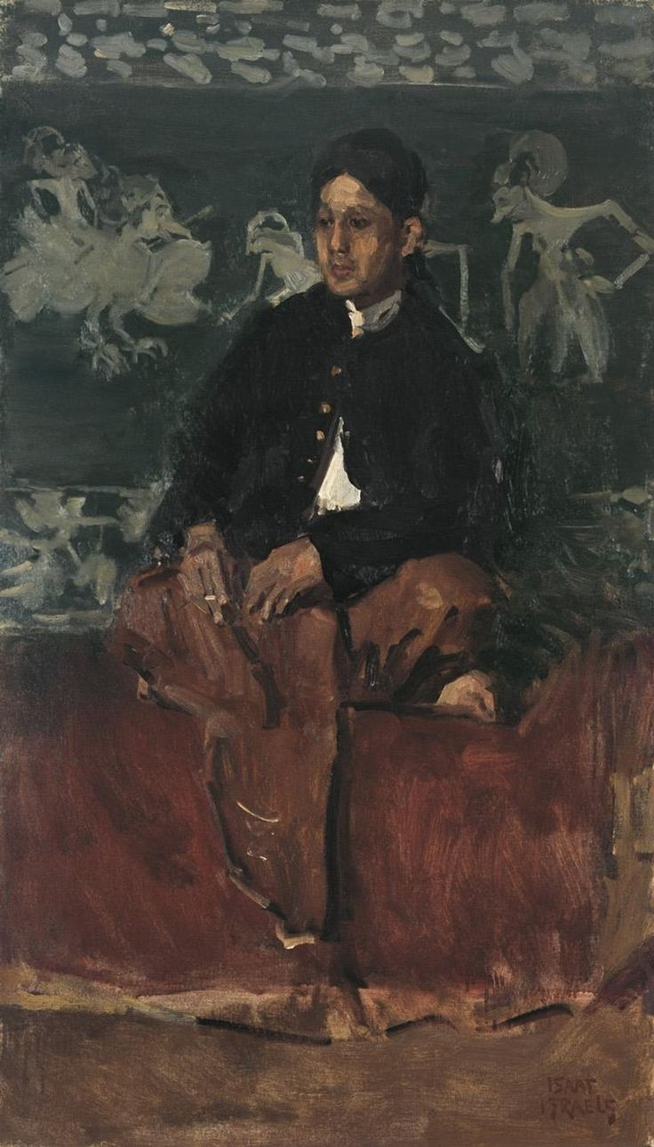 Portrait of a Javanese Nobleman c. 1915 by Isaac Israels (Dutch 1865-1934)