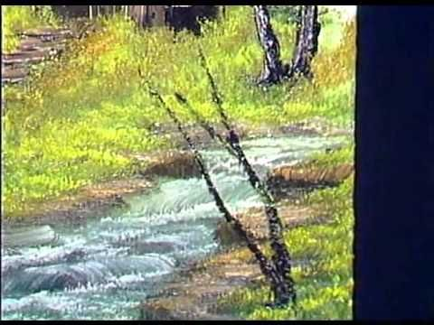 ▶ Bob Ross - Meadow Stream - Painting Video - YouTube
