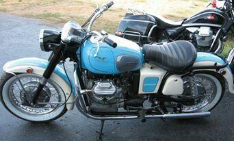 Moto Guzzi 750 Ambassador