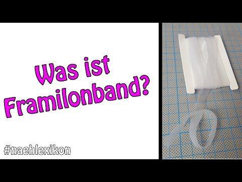 Was ist Framilonband? | #Naehlexikon | Dots Designs | Nähen für Anfänger - YouTube