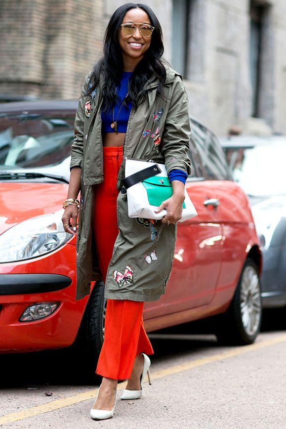Ускользающая красота: 200 стритстайл-образов гостей Недели моды