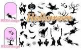 nail tattoos halloween mix