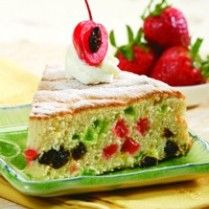 FRUIT MIX ANGEL CAKE http://www.sajiansedap.com/recipe/detail/8065/fruit-mix-angel-cake
