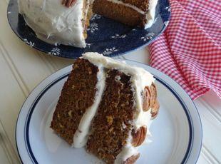 Grandma Cookie's Carrot Cake