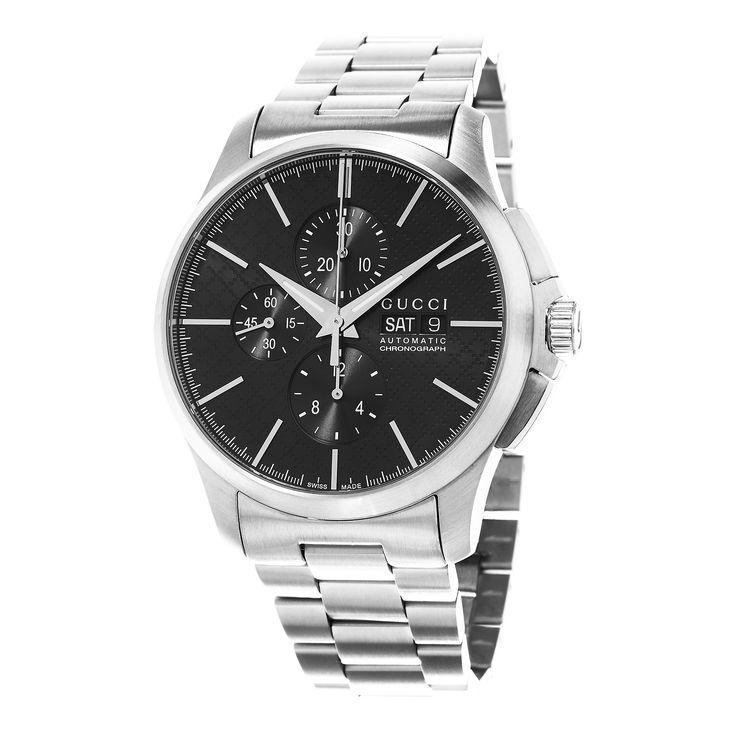 Gucci Men's YA126264 'Timeless' Dial Chronograph Swiss Automatic Watch