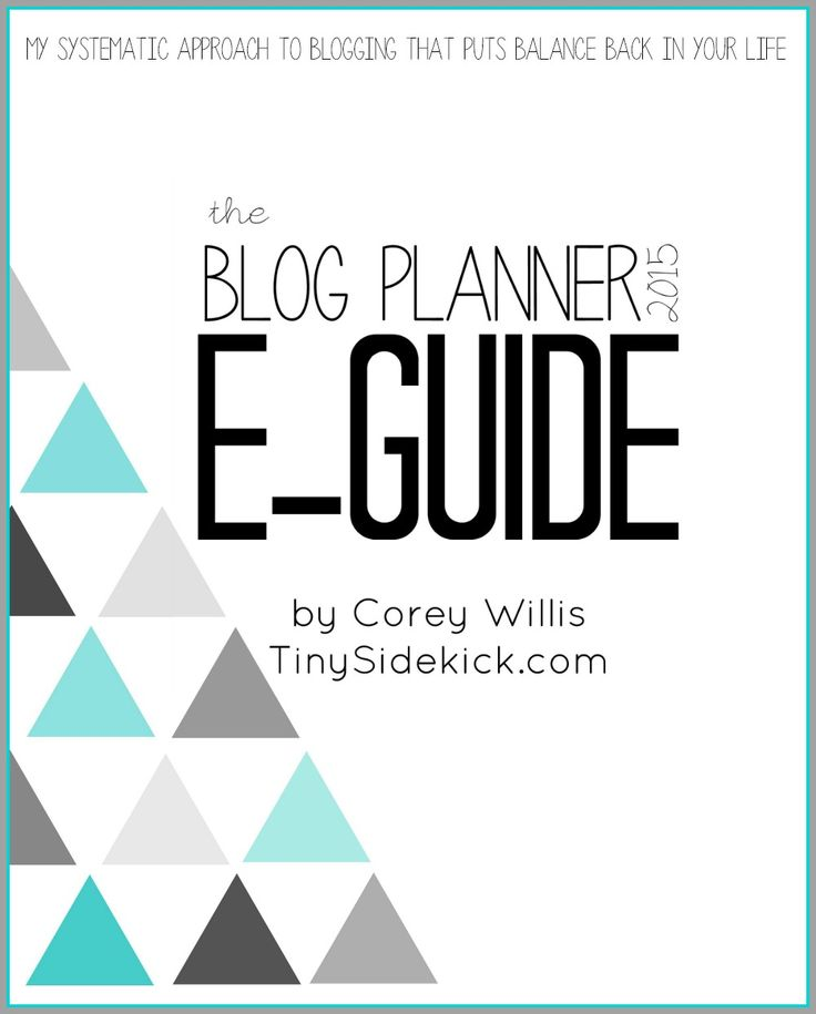 The Blog Planner 2015 and E-guide is now available!  - The most complete blog planner and an e-guide explaining one bloggers exact system to staying organized and maximizing her time (plus some great tips too!)