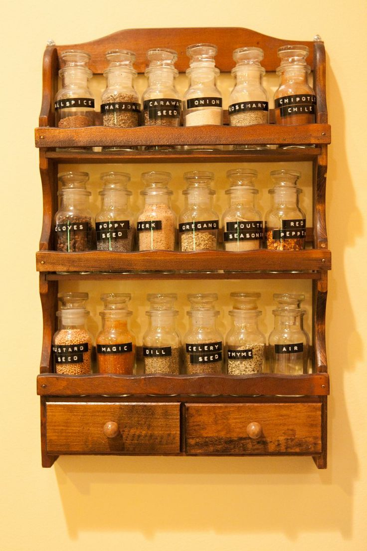 70 Best Vintage Spice Cabinets And Racks Images On