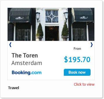 Adacado Booking.com ad