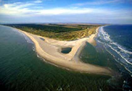 Bald Head Island, NC - love this island The ocean is on the east and the Cape Fear River is on the west
